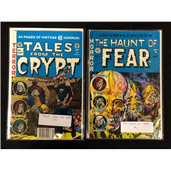 TALES FROM THE CRYPT #1 & THE HAUNT OF FEAR #1