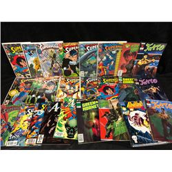 SUPERMAN, THE PUNISHER, GREEN HORNET, KATO COMIC BOOK LOT