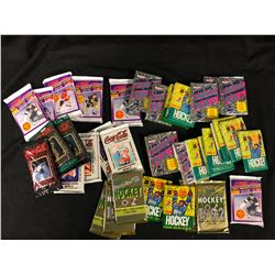 SEALED HOCKEY TRADING CARDS LOT   (WAX PACKS & MORE)