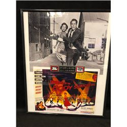 KEVIN McCARTHY & DANA WYNTER AUTOGRAPHED INVASION OF THE BODY SNATCHERS  FRAMED MOVIE POSTER