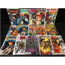 MARVEL COMIC BOOK LOT (WOLVERINE, THE PUNISHER, WOLVERINE)