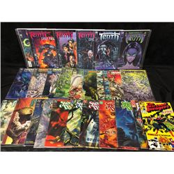 DC & MARVEL COMIC BOOK LOT (SWAMP THING, TENTH & MORE)