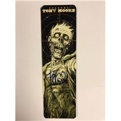 COLONEL TONY MOORE AUTOGRAPHED BOOKMARK