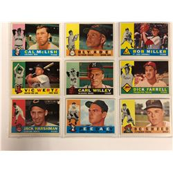 1950'S TOPPS BASEBALL TRADING CARDS LOT (WILLEY, DALEY, SCHOFIELD & MORE)