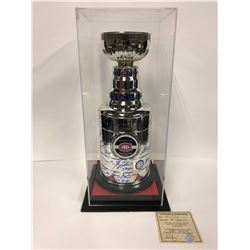 "16"" Stanley Cup Replica Trophy Signed By 24 Montreal Canadiens Greats"