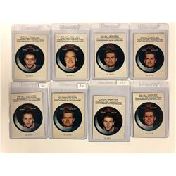 1968-69 O-PEE-CHEE Hockey Push-Out Sticker LOT (LIMITED EDITION)