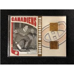 DOUBLE MEMORABILIA BILL DURNAN HOCKEY CARD