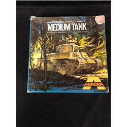 "JAPANESE WORLD WAR II ""MEDIUM TANK"" ALL PLASTICK ASSEMBLY KIT (1/48 SCALE) IN BOX"
