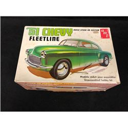 AMT '51 CHEVY FLEETLINE UNASSEMBLED HOBBY KIT (IN BOX)