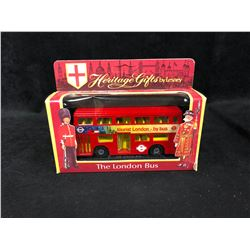 HERITAGE GIFTS BY LESNEY THE LONDON BUS (IN BOX)