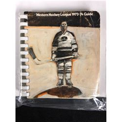 1973-74 WESTERN HOCKEY LEAGUE GUIDE