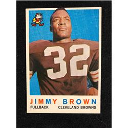 1959 Topps #10 Jimmy Brown (Cleveland Browns)  Football Card