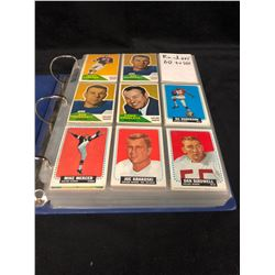 1960-88 ALL RAIDERS FOOTBALL TRADING CARDS LOT