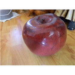 "EXTRA LARGE APPLE - 8"" D X 7 ½"" HIGH"