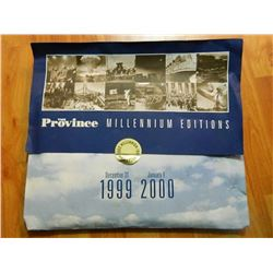 THE PROVINCE - MILLENIUM EDITION - 1999-2000 - PLUS EXAMINER (NOV 7, 1989)