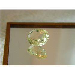 GEMSTONE - CITRINE - OVAL FACETED - 11.0 X 9.3 X 6.2mm