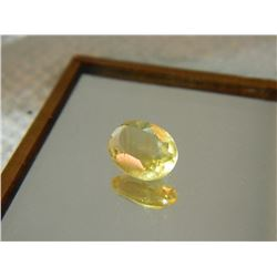 GEMSTONE - CITRINE - OVAL FACETED - 8.7 X 5.7 X 3.5mm