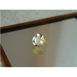 GEMSTONE - CITRINE - ROUND FACETED - 6.0 X 3.6mm