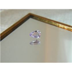 GEMSTONE - AMETHYST - PEAR FACETED - 5.8 X 4.0 X 3.0mm
