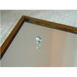 GEMSTONE - BABY BLUE TOPAZ - ROUND FACETED - 3.0 X 2.3mm