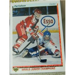 ROOKIE HOCKEY CARD - PAT FALLOON - ESSO - #469 - CONDITION - NEAR MINT