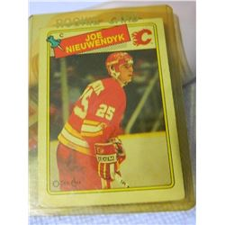 ROOKIE HOCKEY CARD - JOE NIEUWENDYK - CALGARY FLAMES - #16 - CONDITION - NEAR MINT