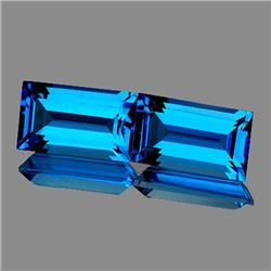 Natural  AAA Swiss Blue Topaz 15x7 MM - FL