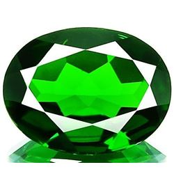 Natural Chrome Diopside 2.74 carats - VVS