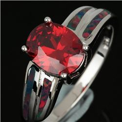 Natural Mozambique Garnet Ring