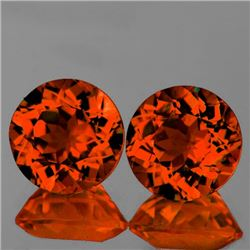 Natural Mandarin Orange Spessartite Garnet 5.00 MM - FL
