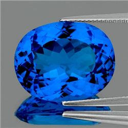 Natural Swiss Blue Topaz 44.10 Cts - FL - Certified