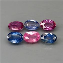 Natural Fancy Color Sapphire 3.46 Ct.