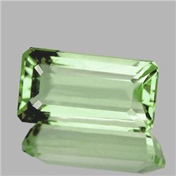 Natural Green Tea Color Amethyst  10.60 Cts - VVS