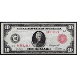1914 $10 Federal Reserve Red Seal Note