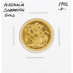 1902-P Australia Sovereign Gold Coin