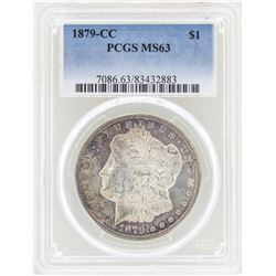1879-CC $1 Morgan Silver Dollar Coin PCGS MS63
