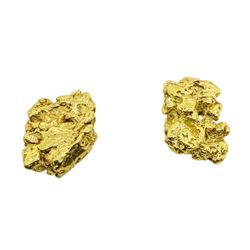 Lot of (2) Gold Nuggets 2.2 grams Total Weight
