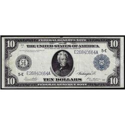1914 $10 Federal Reserve Note Richmond