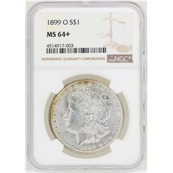 1899-O $1 Morgan Silver Dollar Coin NGC MS64+