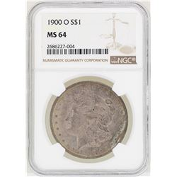 1900-O $1 Morgan Silver Dollar Coin NGC MS64