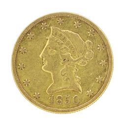 1850-O $10 Liberty Head Eagle Gold Coin