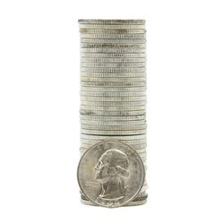 Roll of (40) 1943-S Brilliant Uncirculated Washington Quarters