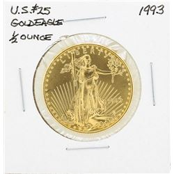 1993 $25 American Gold Eagle Coin