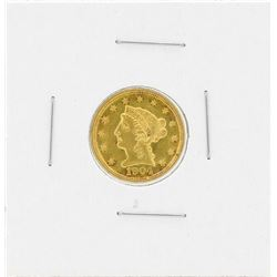 1904 $2 1/2 Liberty Head Quarter Eagle Gold Coin
