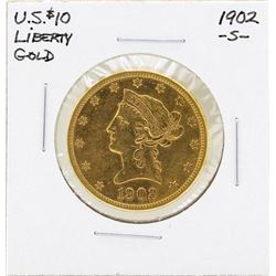 1902-S $10 Liberty Head Eagle Gold Coin