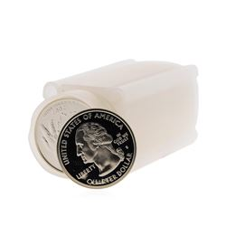 Roll of Modern Proof Silver Quarters Assorted Dates 2000-2008