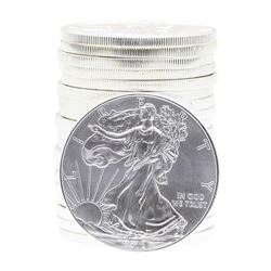 Roll of (20) 2012 $1 American Silver Eagle Brilliant Uncirculated Coins