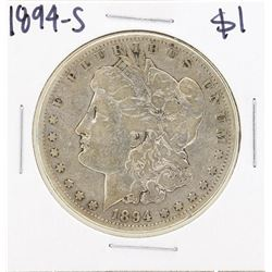 1894-S $1 Morgan Silver Dollar Coin