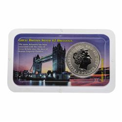 1999 Great Britain Two Pound Silver Coin