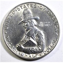 1920 PILGRIM COMMEMORATIVE HALF DOLLAR, CH BU